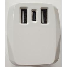 2 USB /Type C Plug