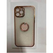 Gold Pink Ring