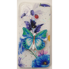 3PC Butterfly Gel Blue