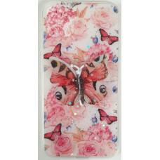 3PC Butterfly Gel pink