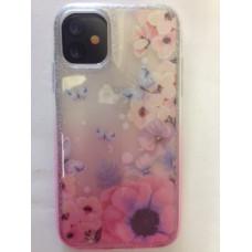 3PC Pink Flower Gel New