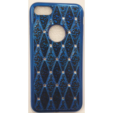 Rhombic Diamond TPU Blue