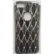 Rhombic Diamond TPU Silver