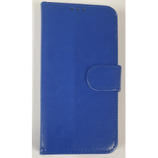Leather Book Blue